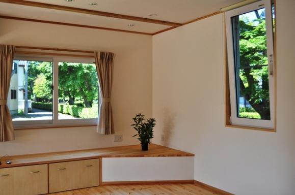エコロジー(地球環境、人にやさしい)への思いと、エコノミー価格(経済効果、八溝産木材)を実現するエコライフ住宅